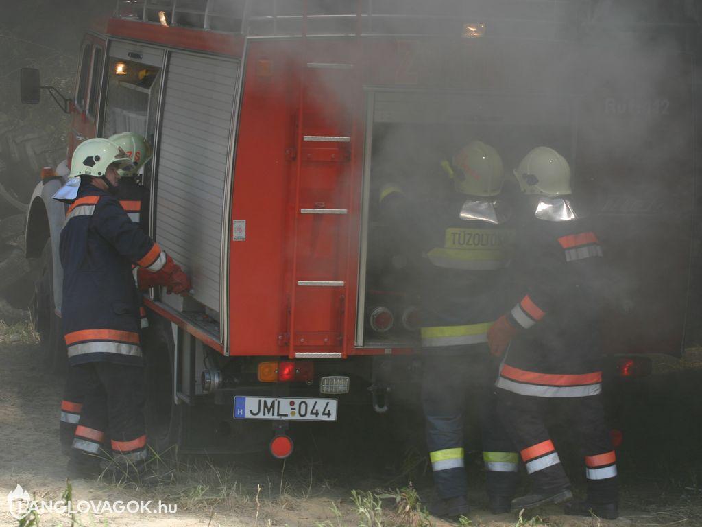 Tűzoltónap Zsámbékon