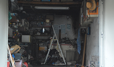 Bojler gyulladt ki egy garázsban Debrecenben