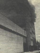 Tűz a Chinoin porformázó üzemében Budapesten