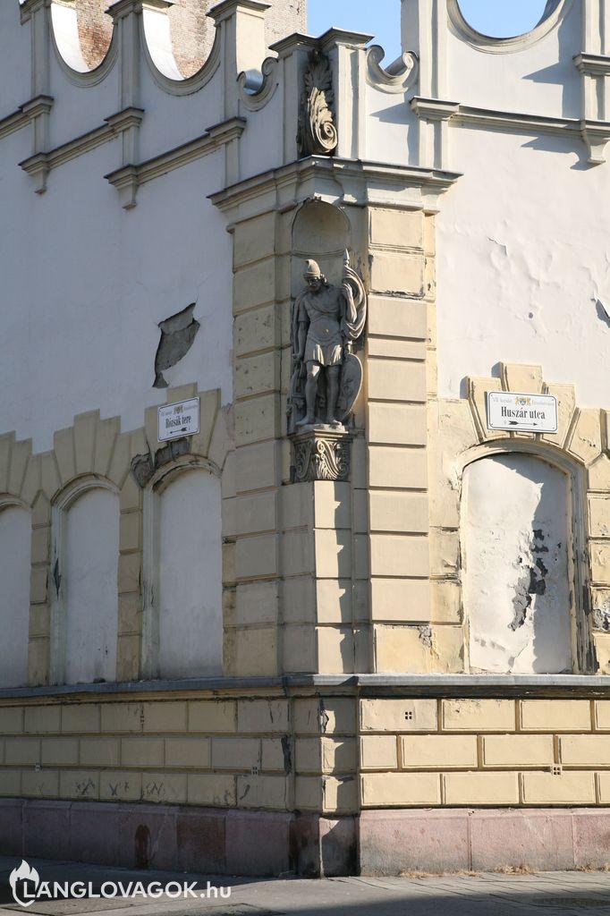 Szent Flórián-szobor a VII. kerületben (Fotó: Kis-Guczi Péter)
