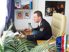 Bérczi László tű. dandártábornok, országos tűzoltósági főfelügyelő online interjút ad