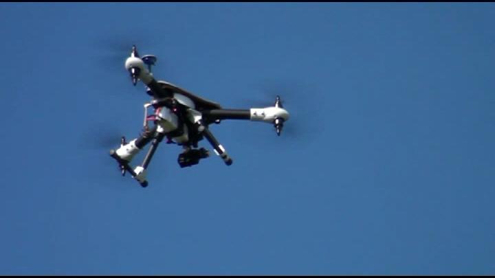 Multicopter alkalmazása személykeresésnél