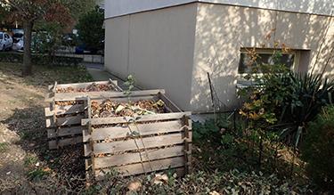 Tűztávolságon belüli komposztálás Gazdagréten
