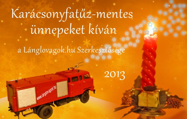 Karácsonyfatűz-mentes ünnepeket kíván a Lánglovagok.hu Szerkesztősége
