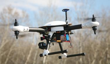 Multicopter Csillagvári Zsolt összeállításában