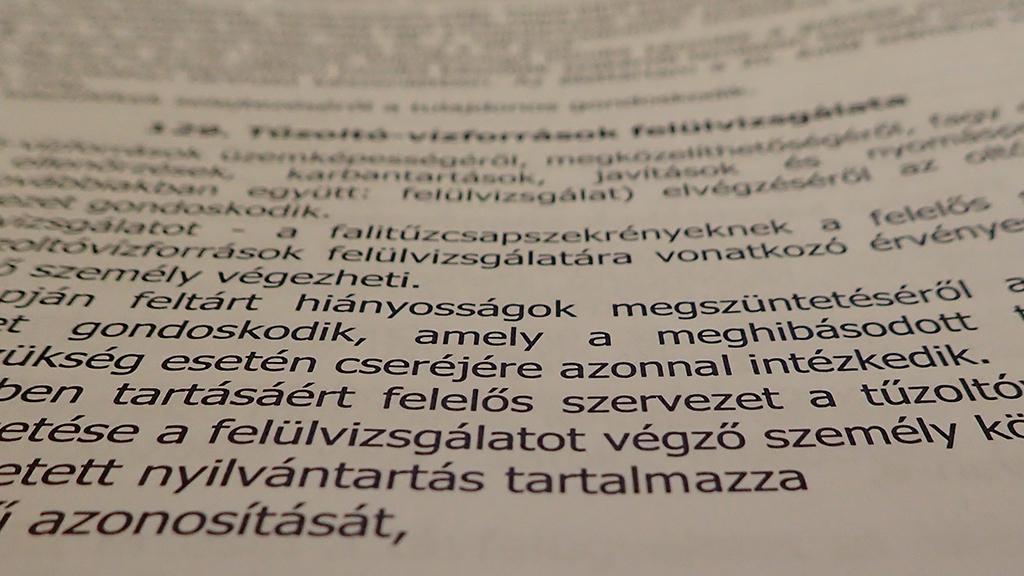 Társadalmi egyeztetésen az OTSZ módosításának tervezete