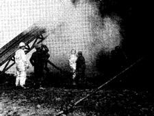 Gázkitörés Szeghalom 107-es fúrási helyén