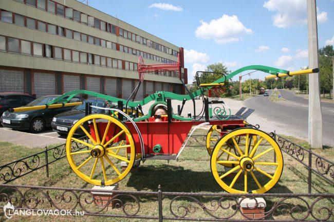 Kocsifecskendő a tűzoltóságnál Pécsett (Fotó: Kis-Guczi Péter)