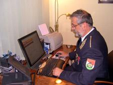 Tatár Attila válaszol (Fotó: OKF)