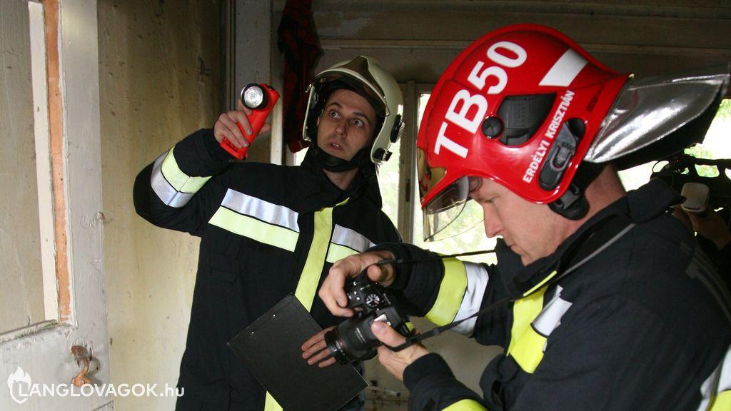 Tűzvizsgálat