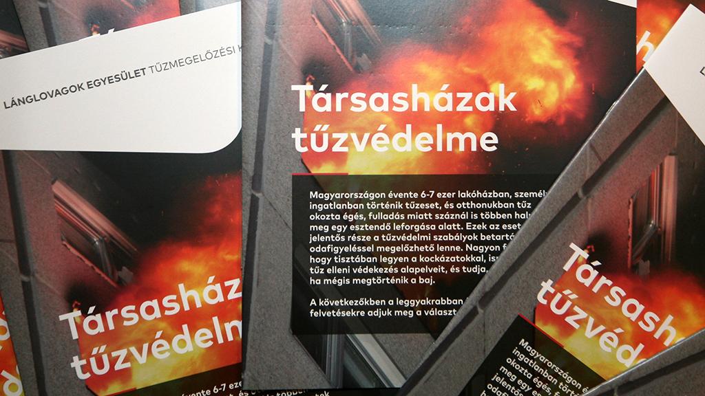 Tájékoztató kiadvány a társasházak tűzvédelméről