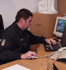 Cziva Oszkár (Fotó: Fővárosi Tűzltóparancsnokság)