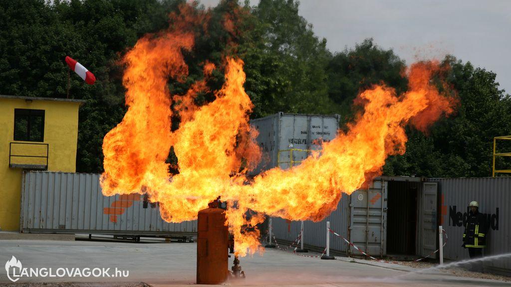 Tűzvédelmi foglalkoztatás