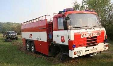 Ma már lassabb és drágább a tűzoltóautók javítása (Fotó: Kis-Guczi Péter)