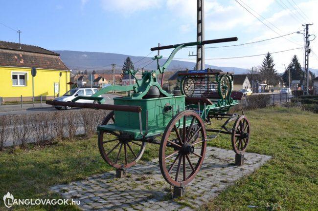 Kocsifecskendő Vértesszőlősön (Fotó: Horváth Zoltán)