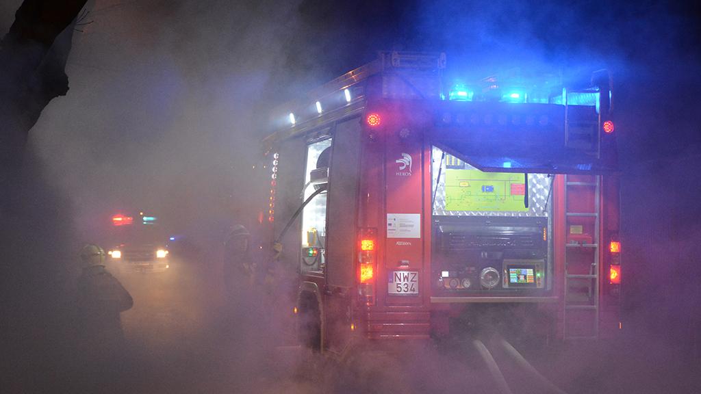 Tűzoltóság riasztása