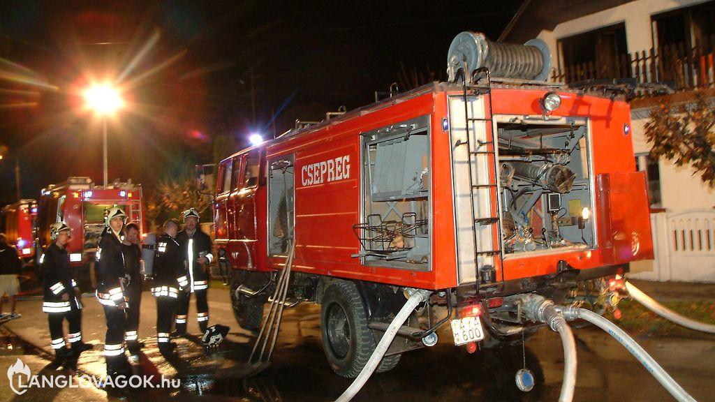 Híradó ügyeletes a Csepregi Önkormányzati Tűzoltóságon