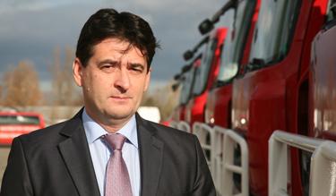 Rajnai Attila, a BM Heros Zrt. vezérigazgatója (Fotó: Kis-Guczi Péter)