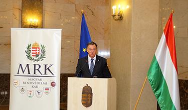 Dobson Tibor tű. dandártábornok továbbra is az MRK élén (Forrás: MRK)