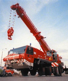 Faun ATF 60-4 tűzoltódaru