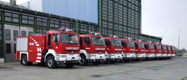 Renault Kerax 420.19 4X4 vízszállító gépjárművek