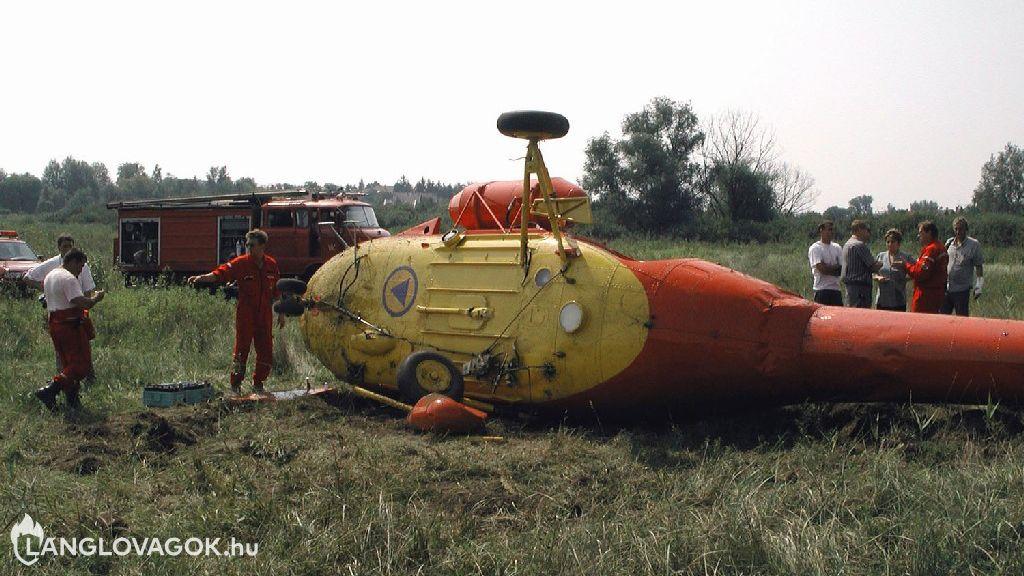 Beavatkozás légijármű-balesetnél