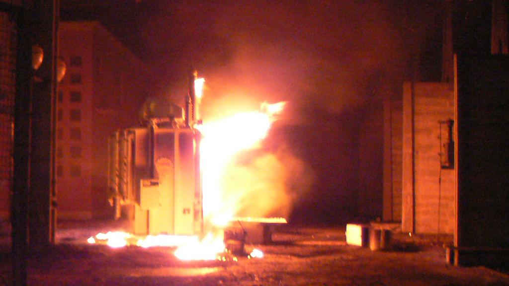 Villamos hálózatok, berendezések tüzeinek oltása