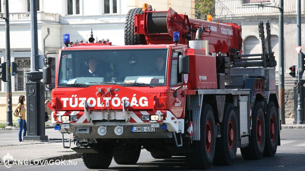 Faun tűzoltódaru [JMB-493]