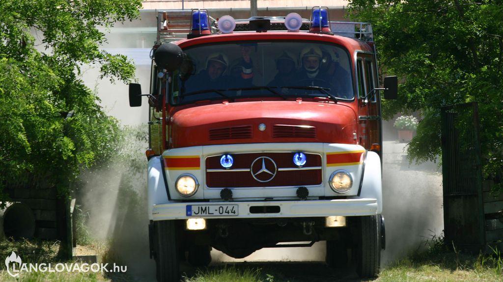 Mercedes-Benz gépjárműfecskendő [JML-044]