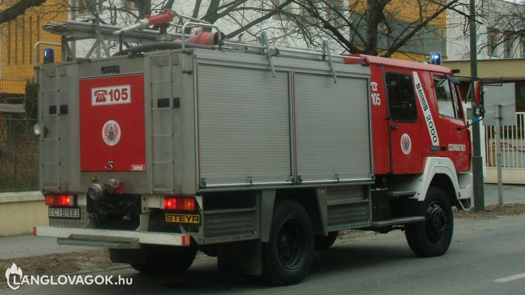 Steyr gépjárműfecskendő [CIB-683]