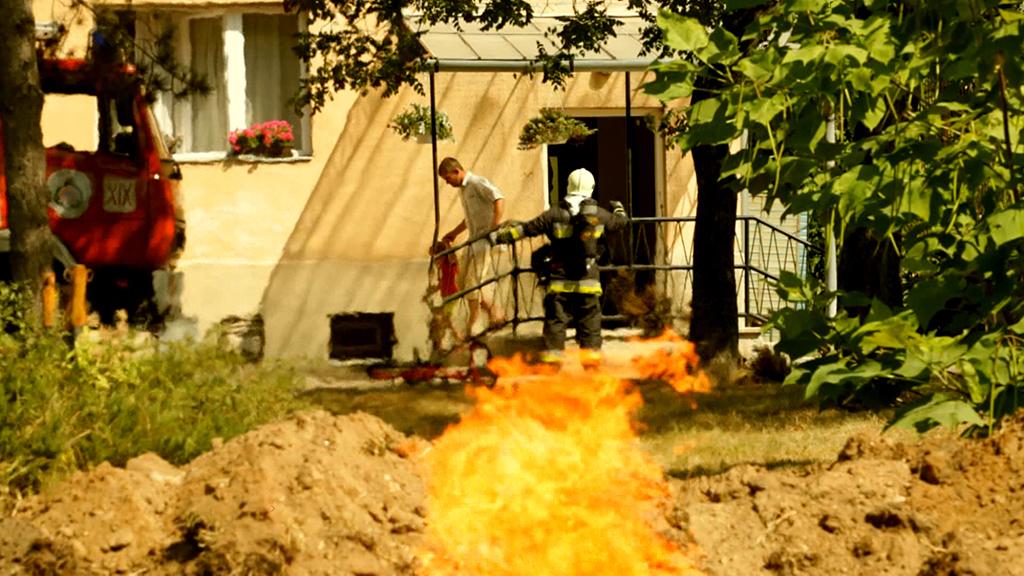 Gázvezeték rongálásának veszélye