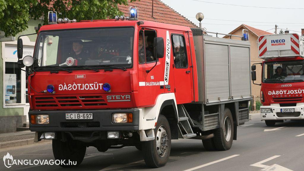Steyr gépjárműfecskendő [CIB-697]