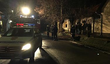 Tűzeset helyszíne (Forrás: police.hu)