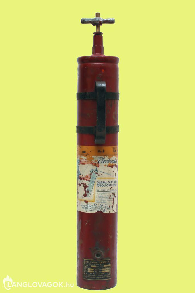 Electropax F tűzoltó készülék (Fotó: Kovács Sándor)