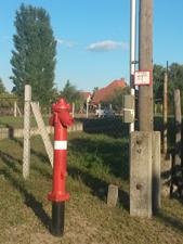 Szabálytalan tűzcsap Helvécián (Fotó: Kis-Guczi Péter)