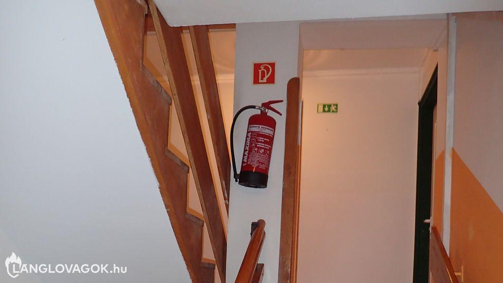 Tűzoltó készülékek üzemeltetői ellenőrzése