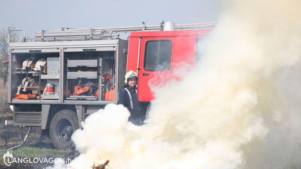 Beosztott tűzoltó Pest megyében