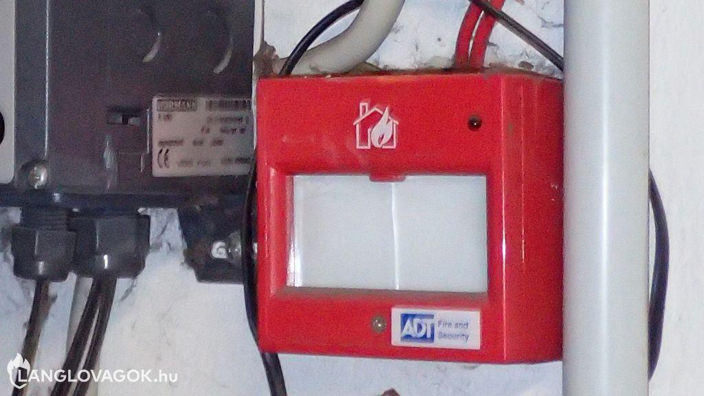 Beépített tűzjelző berendezés üzemeltetői ellenőrzése
