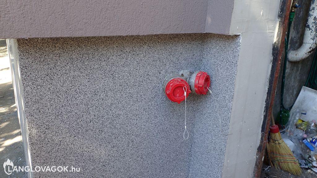 Hőszigetelt száraz felszálló Budapesten