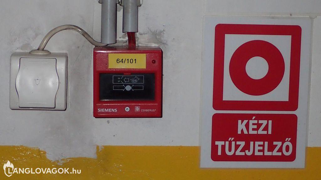 Beépített tűzjelző berendezés felülvizsgálata, karbantartása