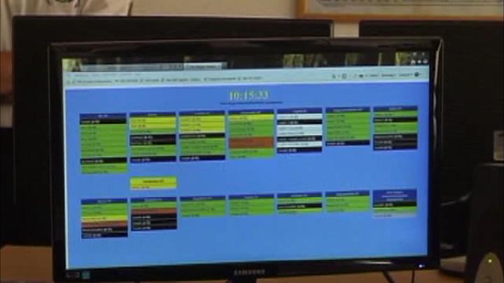 Sajtótájékoztató a Pajzs üzembe állításáról a Pest Megyei Katasztrófavédelmi Igazgatóságon