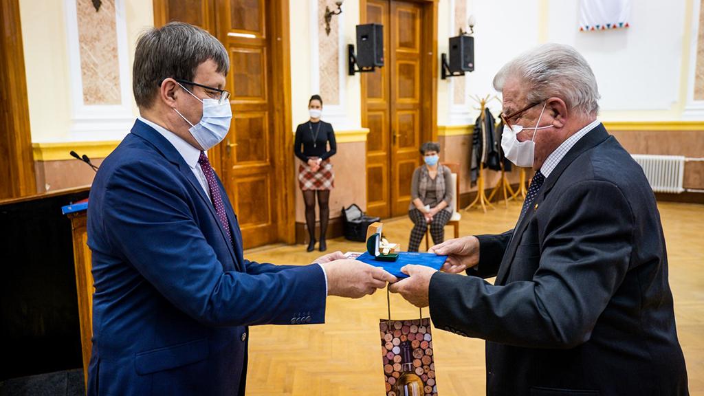 Díszpolgár lett Dr. Jókai Oszkár