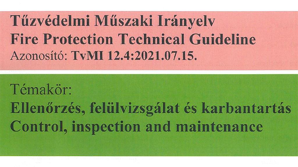 Módosul a karbantartásról szóló irányelv